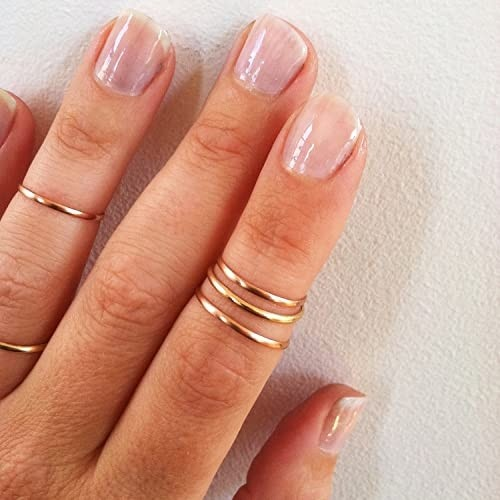 SMOOTH MID RING GOLD