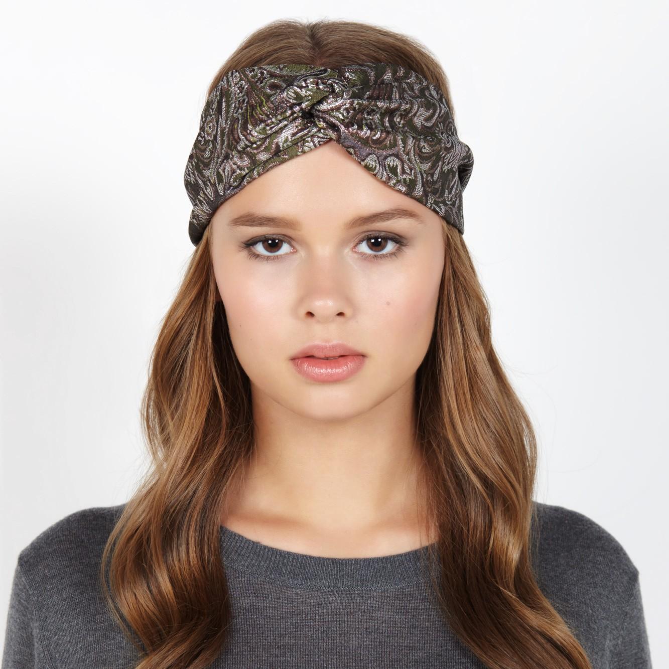 Lupine headband