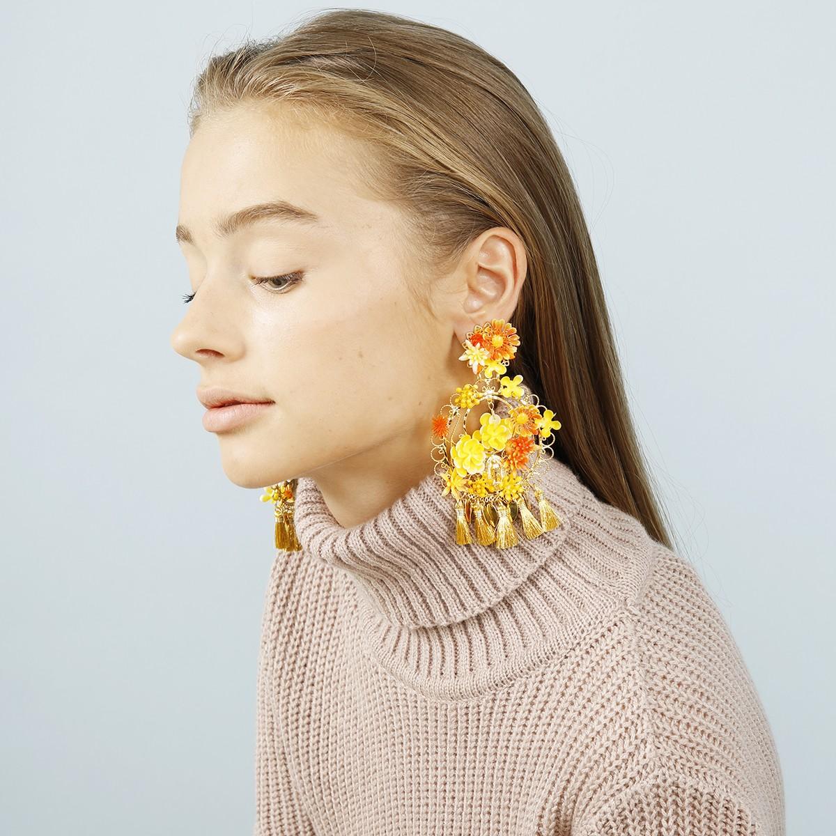 Fiesta Flores Earrings