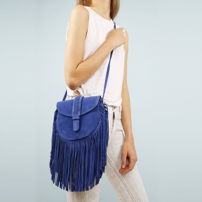 Gamine Saddle Bag Blue