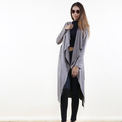 Suedine Coat Taupe