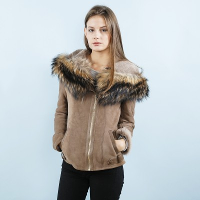 Taupe Laura Jacket