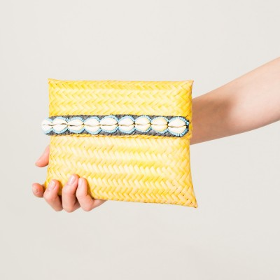 Baby beach pouch Yellow