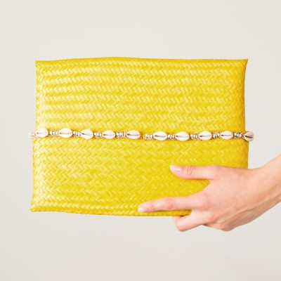 Big beach pouch Yellow