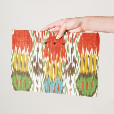 Multicolour Kate Clutch