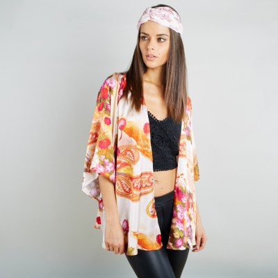 Orange kimono
