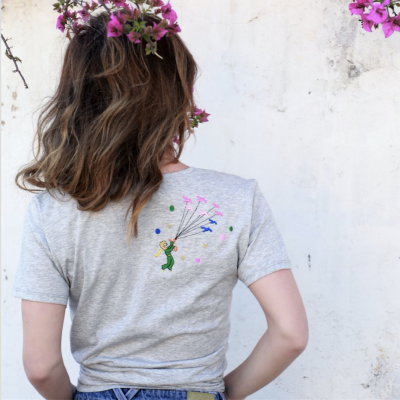 Embroidered tshirt - star tee