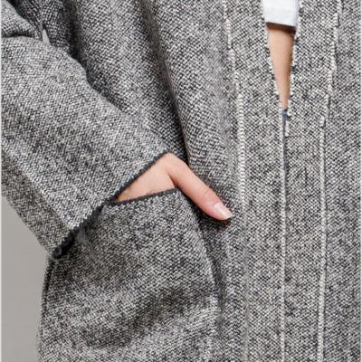Long chunky vest