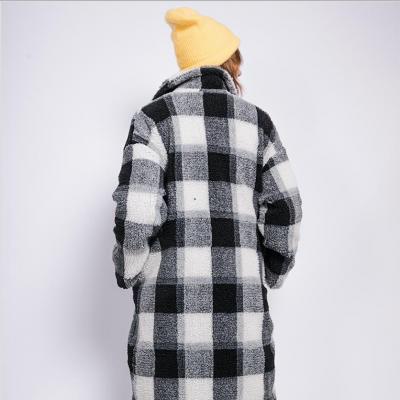 Teddy Checkered coat