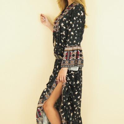 Oversize Aztek dress
