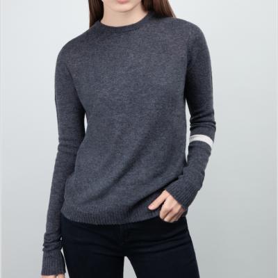 Grey cachemire sweater