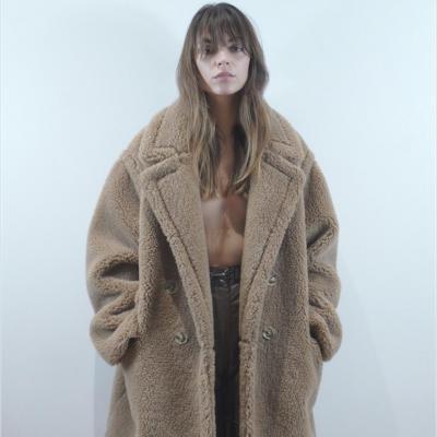 Teddy coat Camel