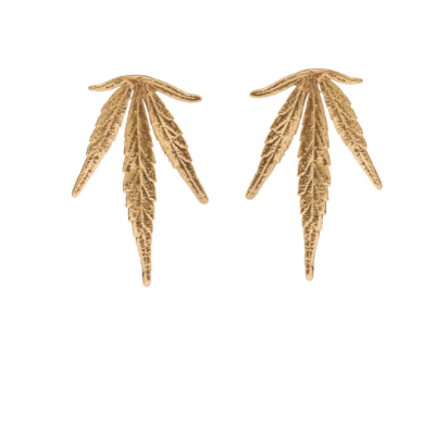 Maria leaf earrings