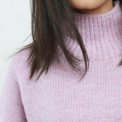 Pink High neck sweater