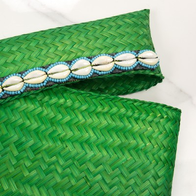 Baby beach pouch Green