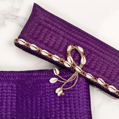 Big beach pouch Purple