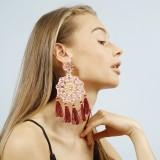 True pink Aretes Fiesta Earrings