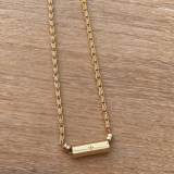 Madras necklace small